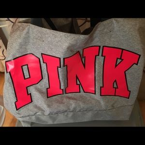 Pink by Victoria's Secret Large Weekend Tote Bag